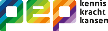 Logo PEP kennis kracht kansen